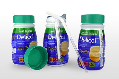 Delical hphc edulcore bouteilles