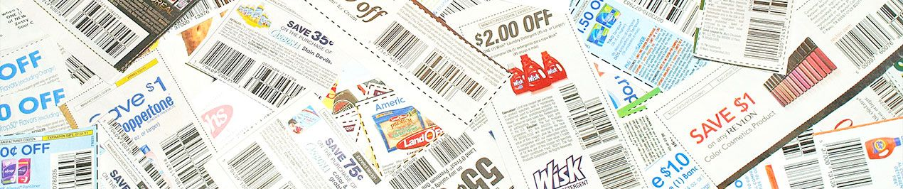 Coupons promotions papier