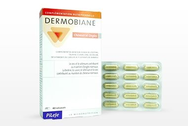 Dermobiane cheveux et ongles - Pileje